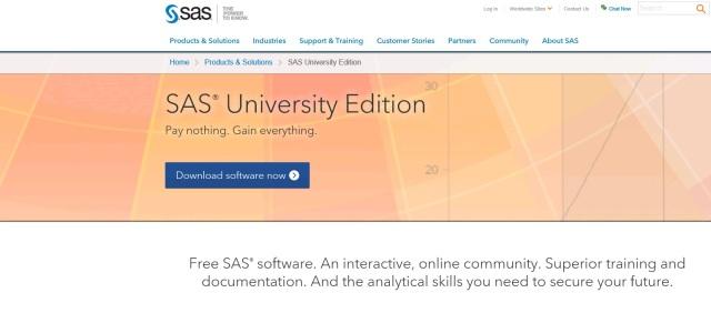 sas university edition – Foreground Analytics LLC